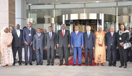 Sommet du Comité des 10 sur la réforme de l'ONU au Pefaco Hôtel Alima Palace - Photo issue de www.Starducongo.com